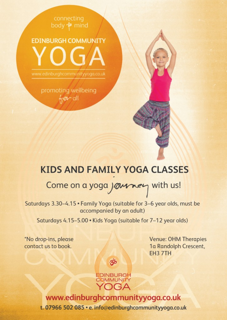 kids and family classes starting in january