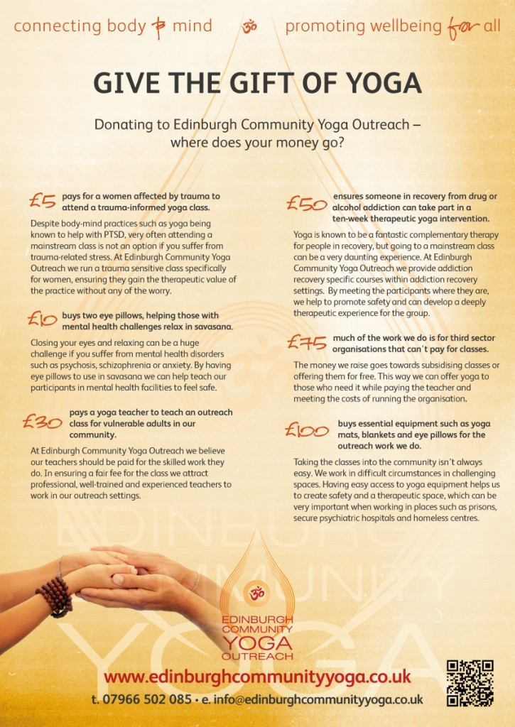 ECY donations flyer