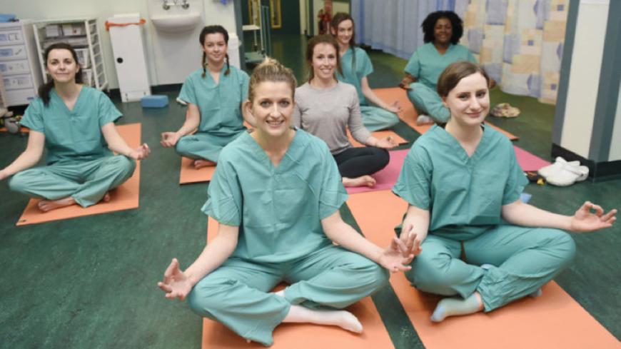 NHS yoga